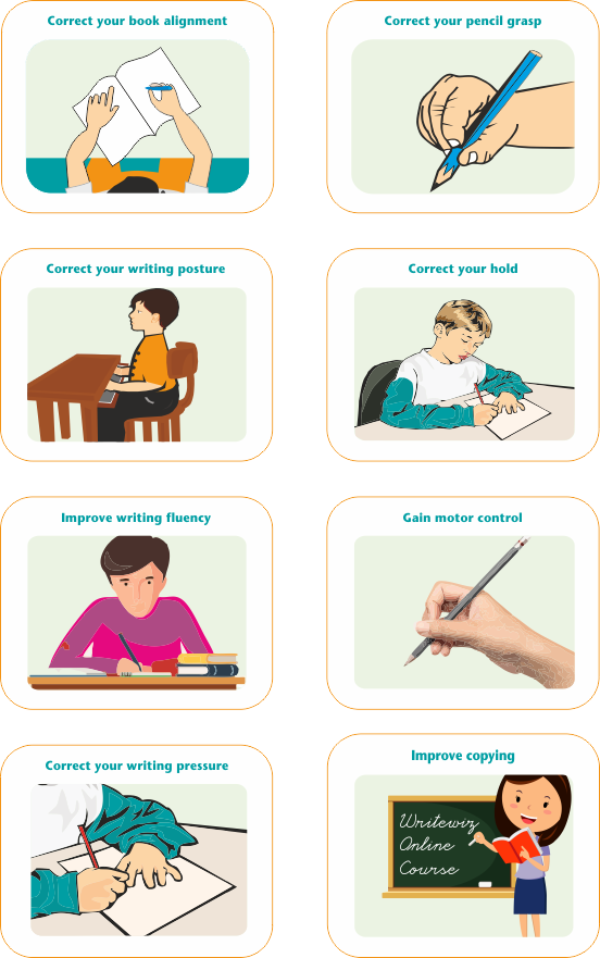 Improve poor handwriting with better writing habits